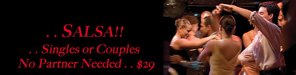 Salsa Lesson Special Offer $29