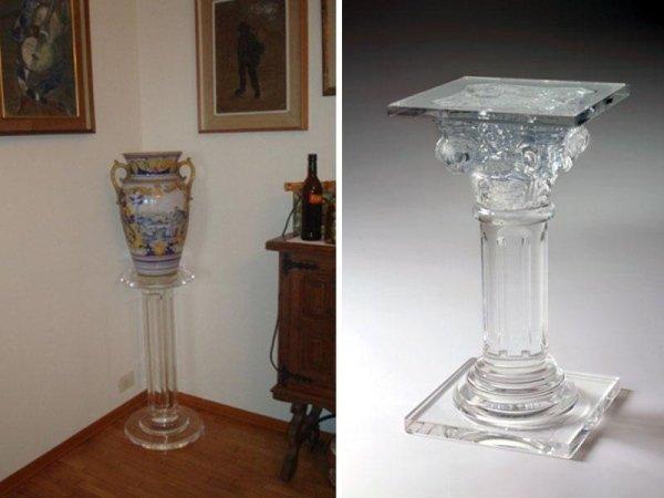 colonne in vetro