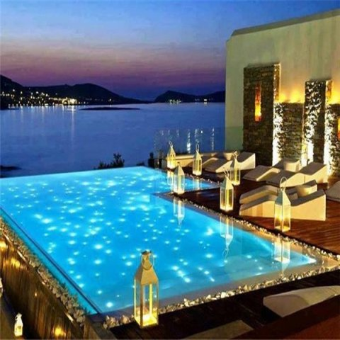 Illuminazione piscine
