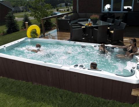 Vasche Idromassaggio da esterno Beachcomber Hot Tub