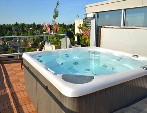 Vasca Da Terrazzo : Vasche idromassaggio per esterni firenze idroflorens
