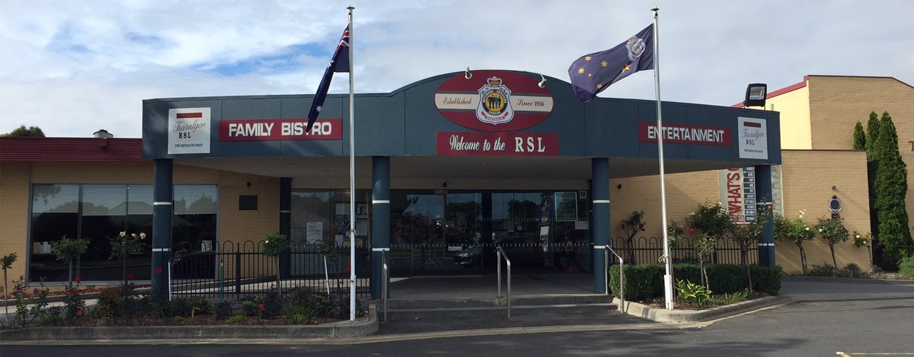Exterior view of Traralgon RSL