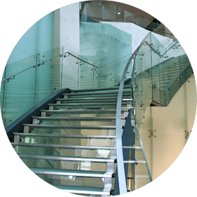 Balaustre e scale