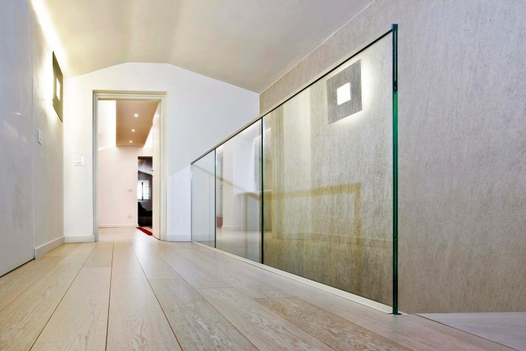 Balaustre e scale in vetro