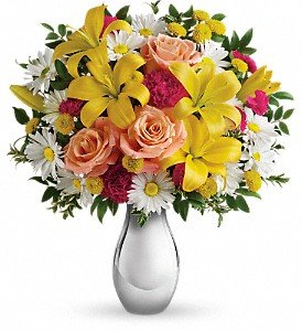 Just Tickled Bouquet by Teleflora Premium