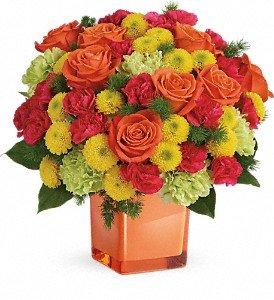 Teleflora's Citrus Smiles Bouquet Premium