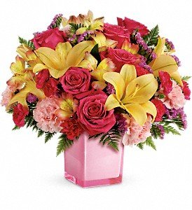 Teleflora's Pop Of Fun Bouquet Premium