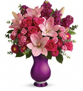 Premium Teleflora's Sparkle and Shine Bouquet