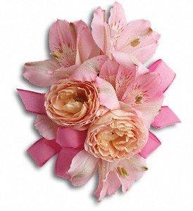 Pink Tiger Wedding Flowers