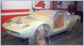 verniciatura auto sportiva