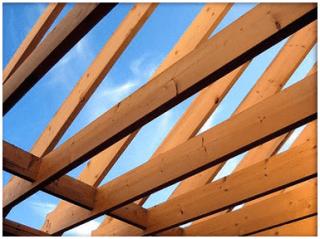tetti di legno