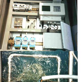 impianto monitoraggio scarico