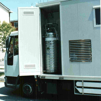 furgone controllo inquinamento