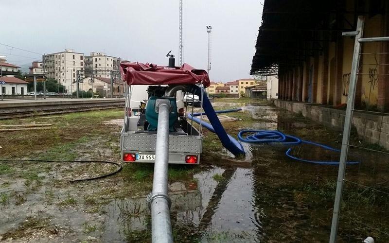 Mezzi per emergenze alluvioni