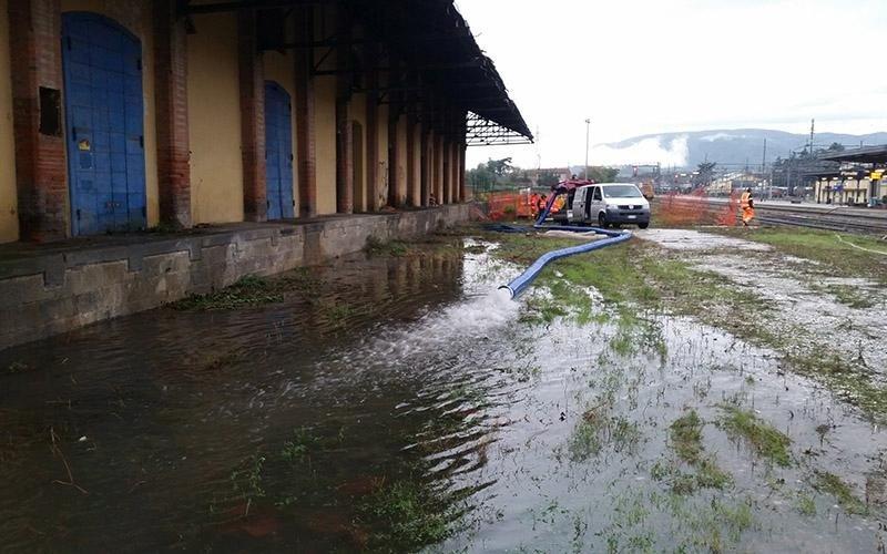 Bonifica dopo alluvione