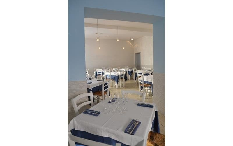 Sala ristorante Napule È