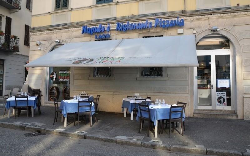 Vista ristorante Napule È
