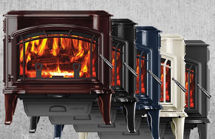 Quadra Fire Explorer Non-Catalytic Cast Iron Wood Stove EPA Certified, Blaze King, Jotul, Vermont Castings