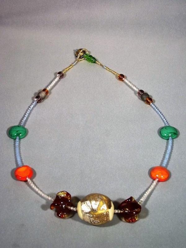 Collier perle vetro murano - Treviso