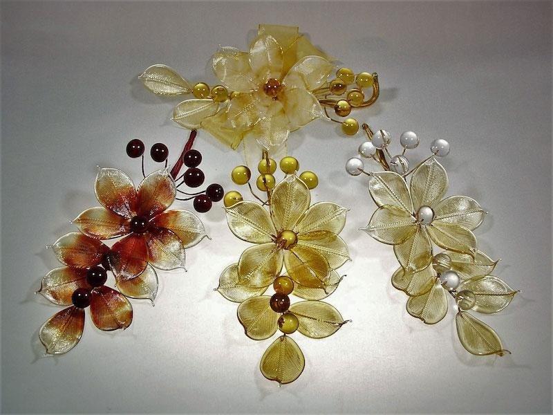 Bombioniere fiori vetro - Mogliano Veneto