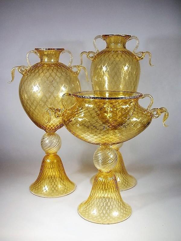 Ballotton Oro Spazzolato Creme - Murano Glam - Treviso