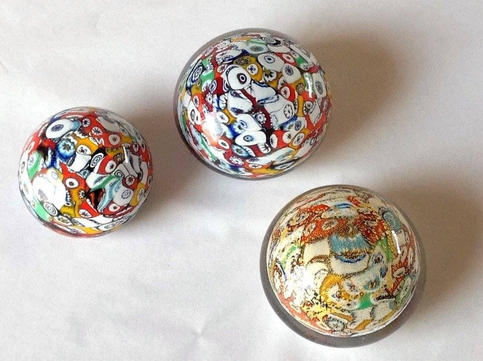 paperweights in precious glass