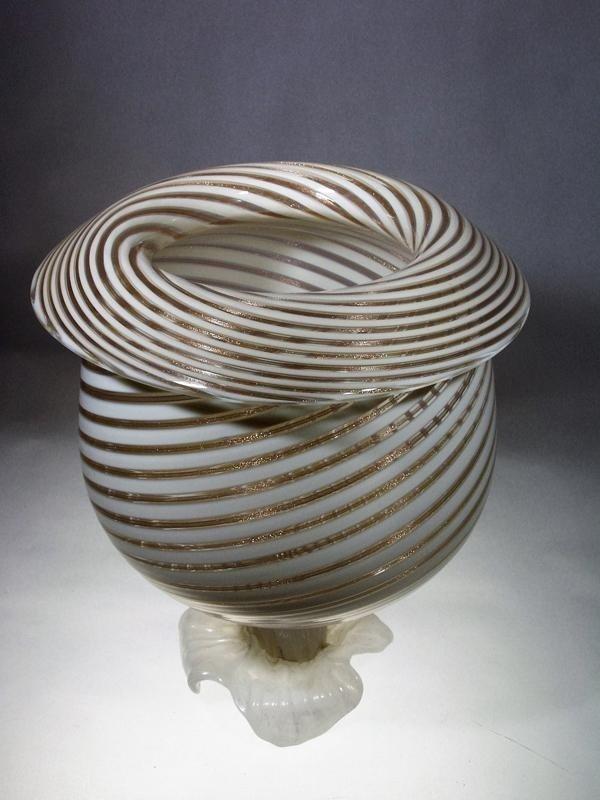 Lavorazione lampadari in vetro Murano