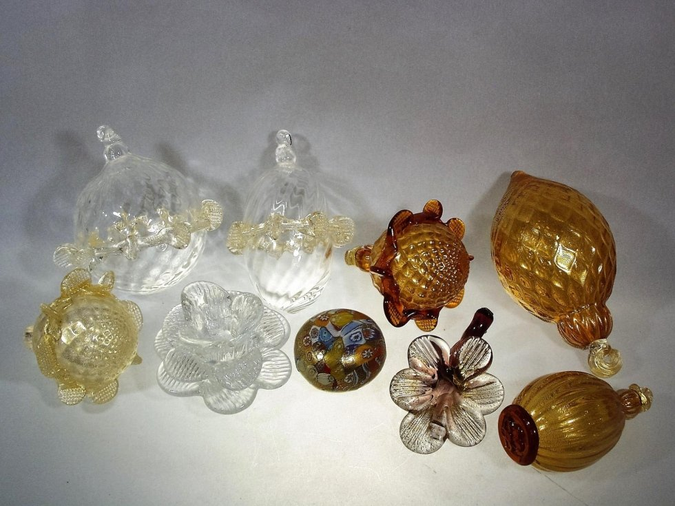 Components for glass lighting