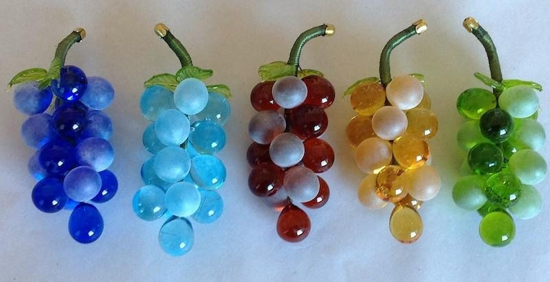 Glass grapes favours - Murano Glam
