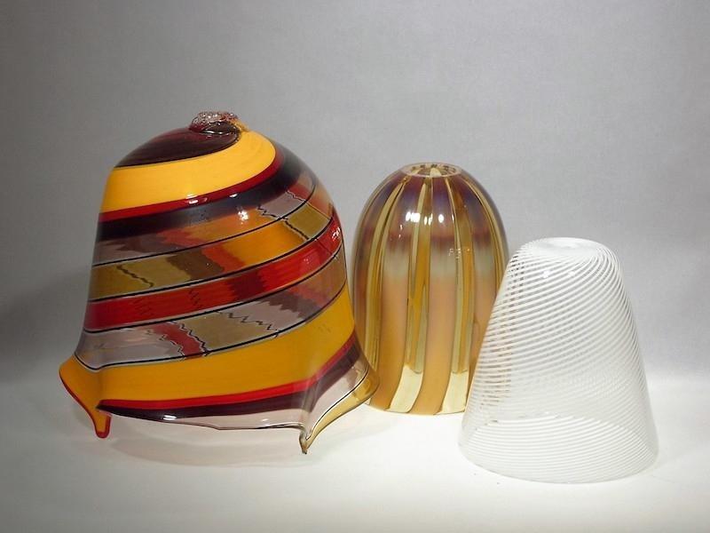 Lavorazione lampadari multipli - Murano Glam