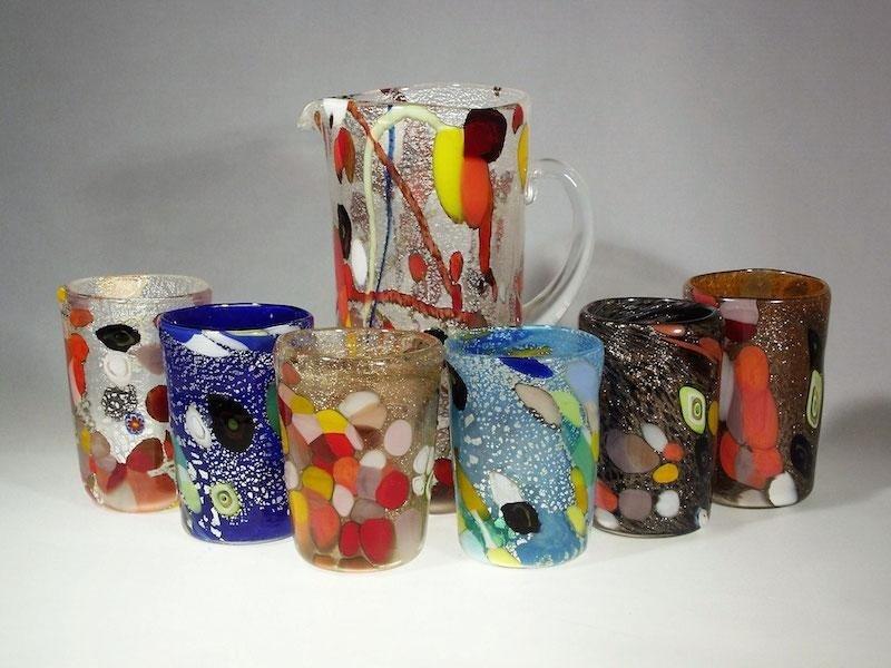 Set tavola - bicchieri Murano Glam