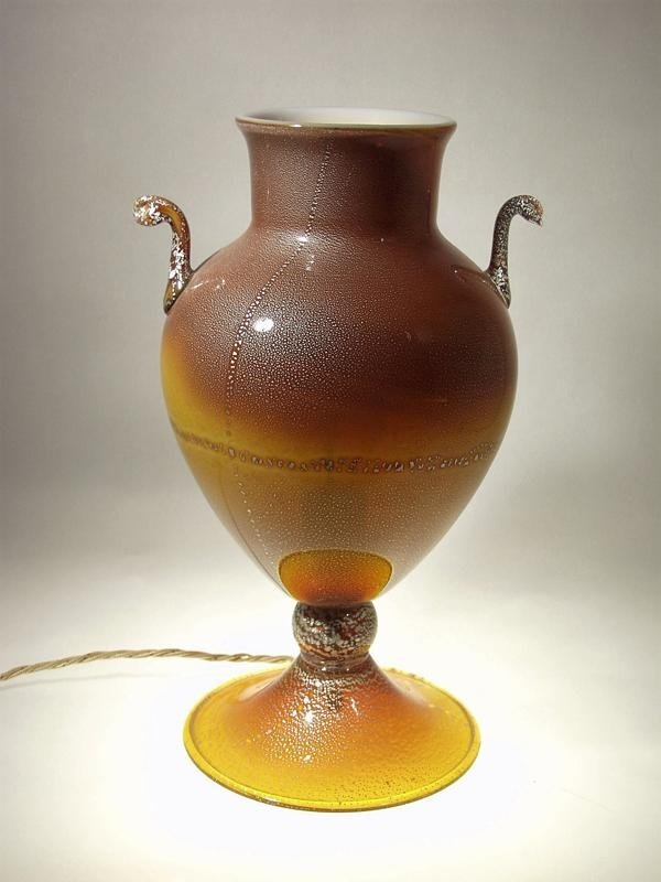 Lampada ad anfora in vetro - Murano Glam