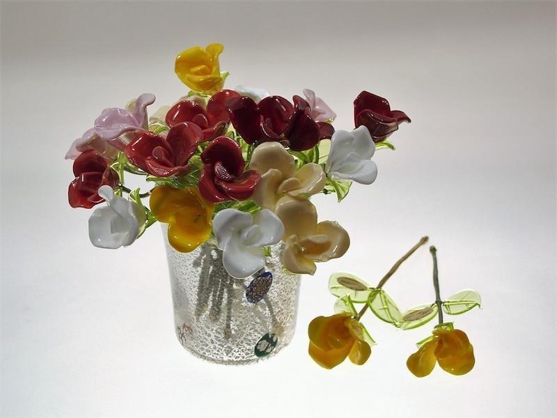 Fiori in vetro murano -  Murano Glam Mogliano Veneto