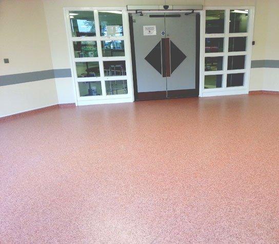 flooring of a room
