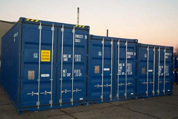 Container trasporto merci