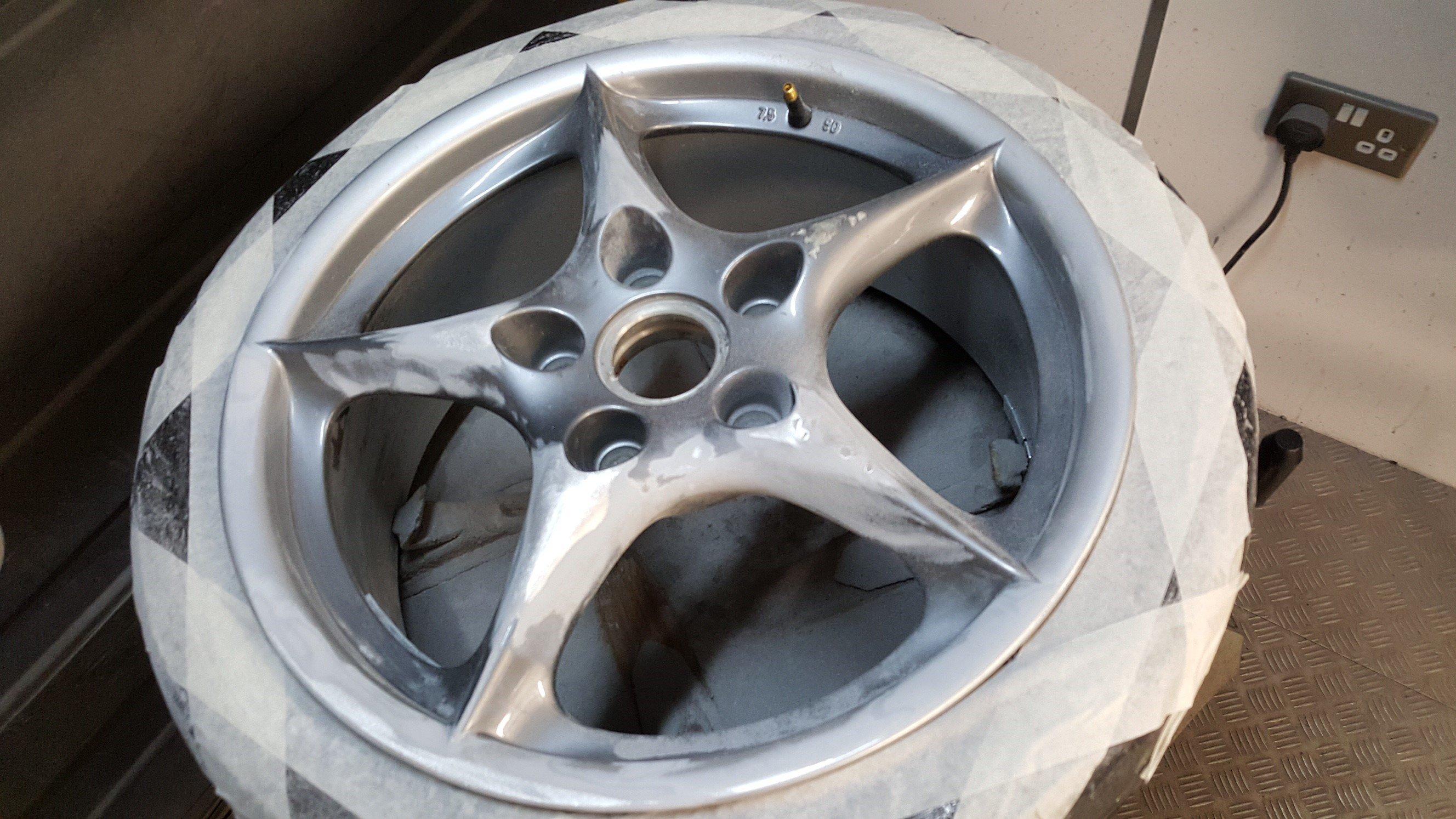 alloy wheel work