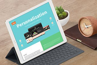 sales collateral - personalization power