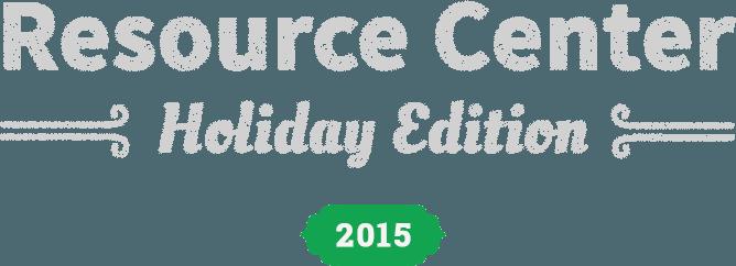 Holiday Edition 2015