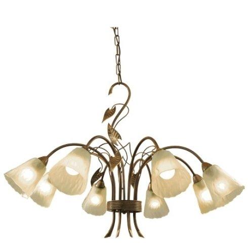lampada classica fiori