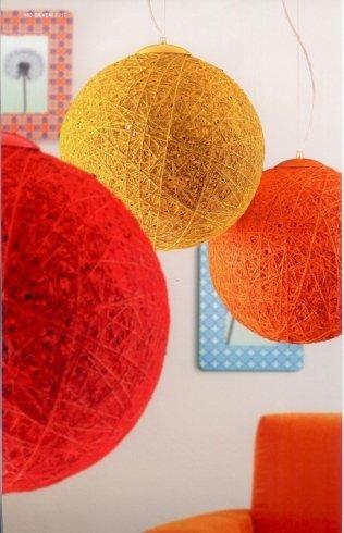 lampade sferiche colorate