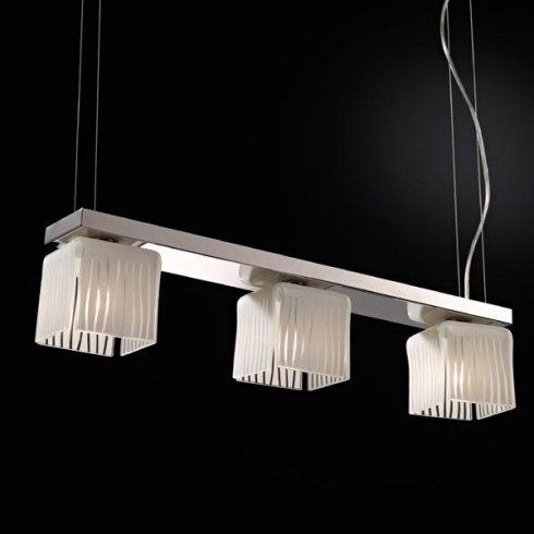 lampada con tre faretti