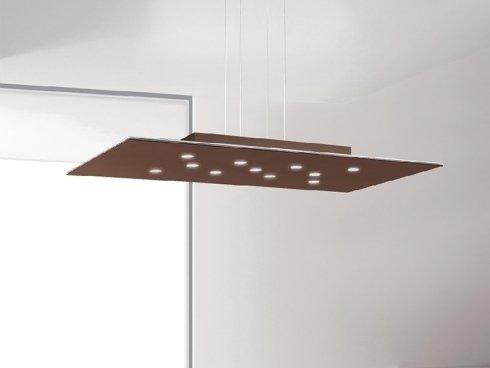 lampada forata rettangolare piatta