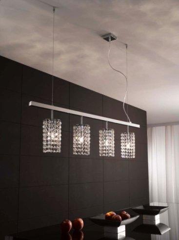 lampada con 4 luci