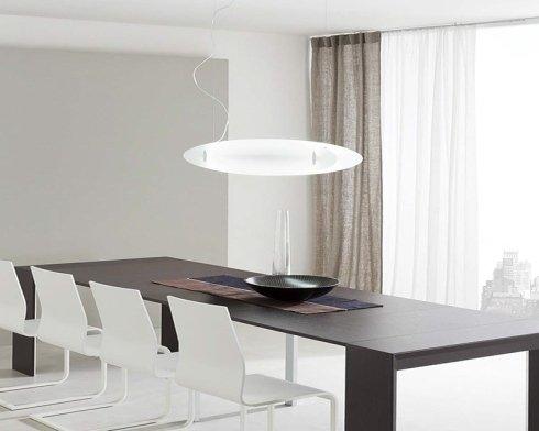 lampada circolare da tavola