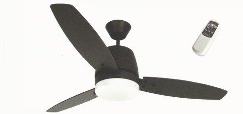 ventilatore nero da soffitto