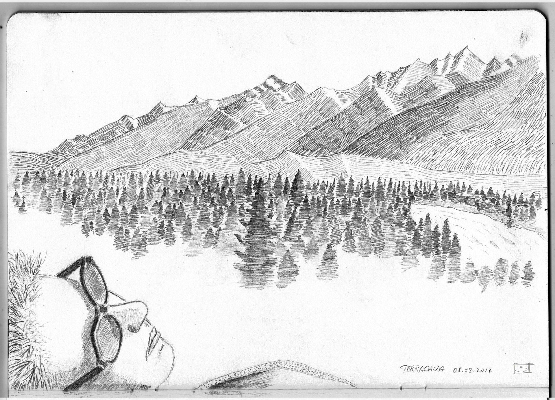 Sebastiano Toma sketches of Canada - Terracana