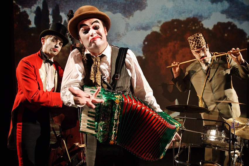 The Tiger Lillies Circus by Sebastiano Toma, Photo © Richard Haughton