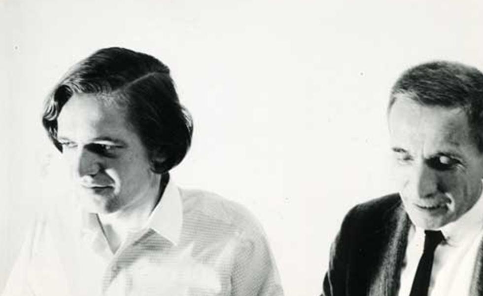 Antonio Recalcati e Dino Buzzati