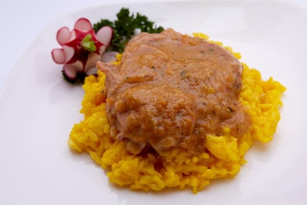Ossobuco alla Milanese veal shanks