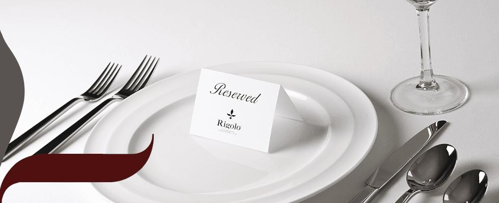 Prenotare un tavolo al rigolo